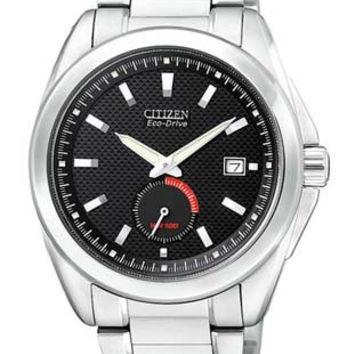 Citizen Mens Eco-Drive Sport Watch - 100 Meters - Stainless Steel - Bracelet