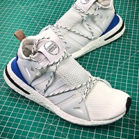 naked x adidas consortium arkyn boost white sport running shoes - best online sale