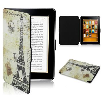 For Kindle 8 Case Fashion Painting Leather Cover Tablet Shell Protector E-book Protective Cover Sleeve For Tablet For Laptop 6""
