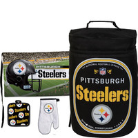 Pittsburgh Steelers NFL Ultimate Cooler and Barbeque Set