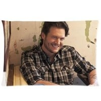 "Blake Shelton Pillowcase Covers Standard Size 20""x30"" CC3516"