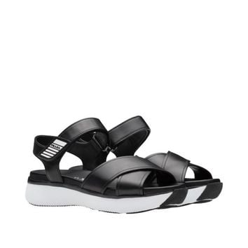 Prada Move calf leather sandal
