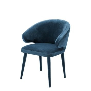 Blue Dining Chair | Eichholtz Cardinale