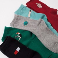 Life Essential Crew Sock Set (Set of 5)