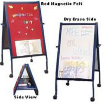 Double-sided_Easel_with_Dry_Erase_Magnetic_Surfaces_-_Blue_19531
