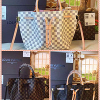 Louis Vuitton Canvas Damier Girolata Tote Bag(multiple styles available)