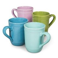 Boho Boutique Camille Solid Coffee Mug - Set of 4 : Target