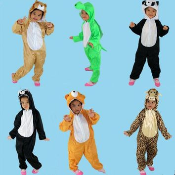 Cool Animal Dinosaur Cat Dog Cosplay One Piece Children Boy Girls Anime  halloween costume for kids ChristmasAT_93_12