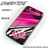 Fox Pink Motocross For Iphone 4 Iphone 4S Case UY