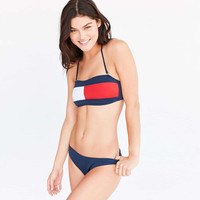 New Arrival Beach Summer Swimsuit Hot Sexy 3-color Navy Swimwear Low Waist Bra Bikini [11739598223]