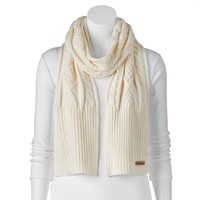 Columbia Cable-Knit Scarf, Size: One