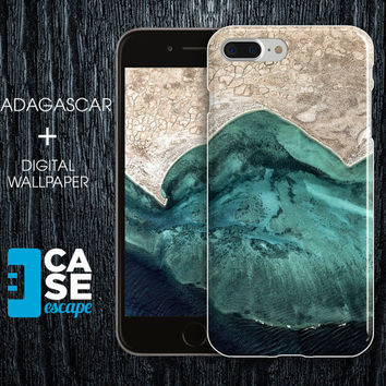Geo Collection x Madagascar Phone Case, iPhone 7, iPhone 7 Plus, Rubber iPhone Case, Galaxy S7 Nature River Ocean Maps CASE ESCAPE