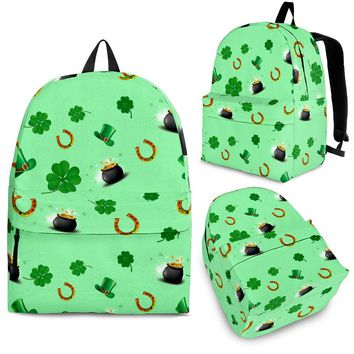 St Patricks Day Backpack
