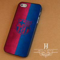 Barcelona fc red and blue iPhone 4 Case 5 Case 5c Case 6 Plus Case, Samsung Galaxy S3 S4 S5 Note 3 4 Case, iPod 4 5 Case, HtC One M7 M8 and Nexus Case