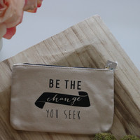 Be the change-Coin purse