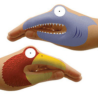Animal Hands in Craft Supplies