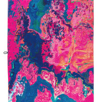 Slowtide Beach Towel in Lucidity