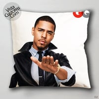 J cole band Pillow Case, Chusion Cover ( 1 or 2 Side Print With Size 16, 18, 20, 26, 30, 36 inch )