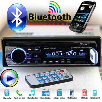 HOT Bluetooth Car Stereo FM Radio MP3 Audio Player