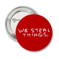 Jason Mraz - We Steal Things. Button from Zazzle.com