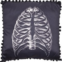 Anatomical Ribcage Pillow by Sourpuss Clothing