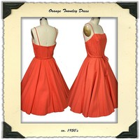 ca. 1950's Townley Sundress from noblesavagevintage on Ruby Lane