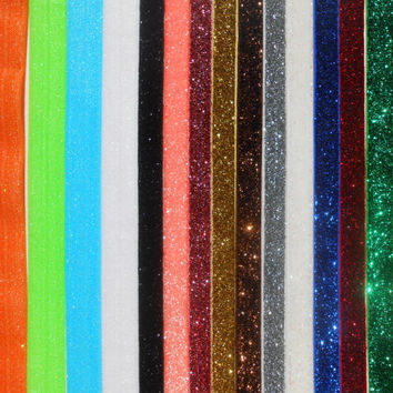 Glitter and Frosted  Elastic ,5 Baby Headband set ,without flower or clip,choose your color, lace headband,adult Headband,Baby Headband