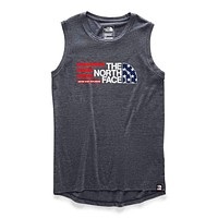 Women's Americana Tri-Blend Tank by The North Face