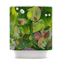 "Marianna Tankelevich ""Jungle"" Shower Curtain"