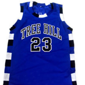 NATHAN SCOTT #23 ONE TREE HILL BASKETBALL JERSEY NEW BLUE - ANY SIZE