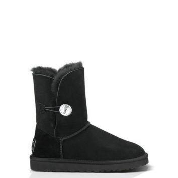 ICIK8X2 UGG? Official | Women's Bailey Button Bling Footwear |