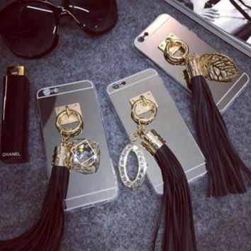 Tassel accessories Case Cover for Apple iPhone 5s 5 SE 6 6S 6 Plus 6S Plus 16090504002