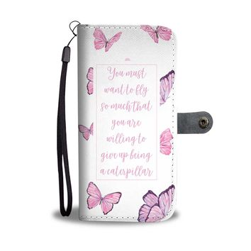 Butterflies Phone Case - You Must Want To Fly So Much