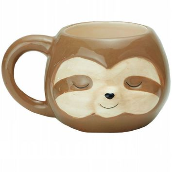 Sloth Ceramic Coffee Mug