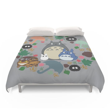 Society6 My Neighbor Troll Duvet Cover