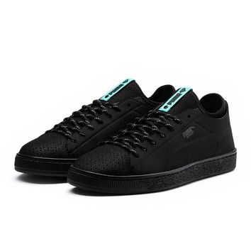 Puma x Diamond Supply - Basket Sock Lo - Black