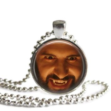 What We Do In The Shadows Nandor The Relentless 1 Inch Silver Plated Pendant Necklace Handmade
