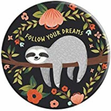 Cute Sloth Jungle Funny Animal Tropical - PopSockets Grip and Stand for Phones and Tablets