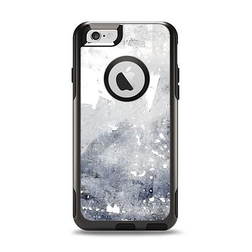 The Grunge White & Gray Texture Apple iPhone 6 Otterbox Commuter Case Skin Set