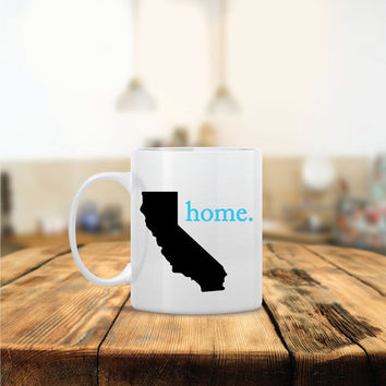 Personalized State home Ceramic Coffee Mug - Dishwasher Safe - Cute Coffee Mug- Funny Coffee Mug - Custom - Personalized