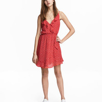 H&M Flounced Wrap Dress $24.99