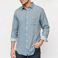 Washed Twill Sport Shirt