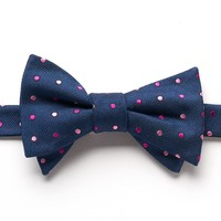 Bow Tie Tuesday Dot Pre-Tied Bow Tie - Men, Size: One Size (Blue)