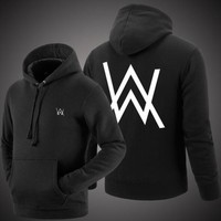 Alan Walker Faded Zippers Pullover Hoodies [11894168655]