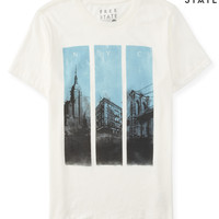 Mens Free State NYC Scene Graphic T-Shirt