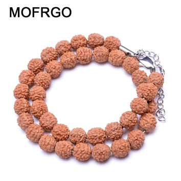 Natural Multilayer Wood Beads Bracelets Multi Color Healing Balance Yoga Beads Bracelet Meditation Prayer Bracelet For Men Women