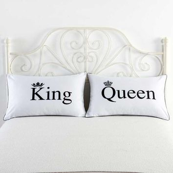 Power Couple Decorative Pillow Cases