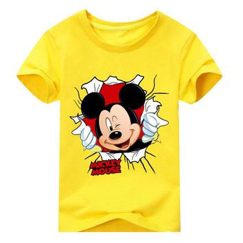 Kids  Mickey/Goofy Disney T shirts in various Colors