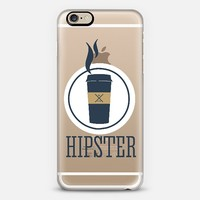 hipster III - transparent iPhone 6 case by Sophie Rousseau | Casetify