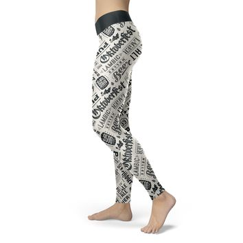 Oktoberfest Beer Leggings